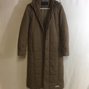 Kenneth Cole Reaction Long Puffer Coat